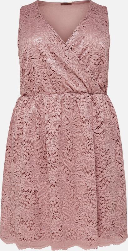 ONLY Carmakoma Kleid 'Curvy' in rosé  Bequem und günstig