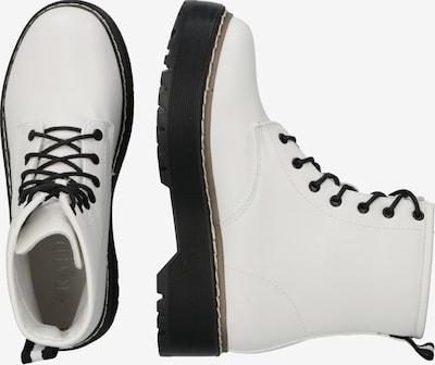 Auliniai batai 'LINA' iš Raid , spalva - juoda / balta: Vaizdas iš šono