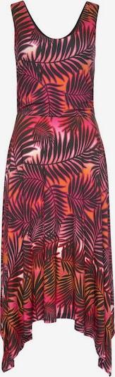 LAURA SCOTT Sommerkleid in orange / pink / schwarz, Produktansicht