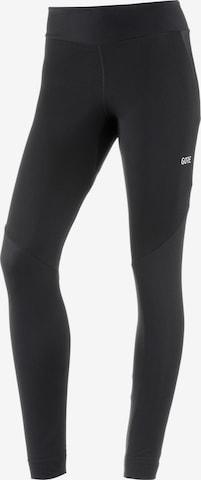 GORE WEAR Workout Pants 'R3 Partial' in Black