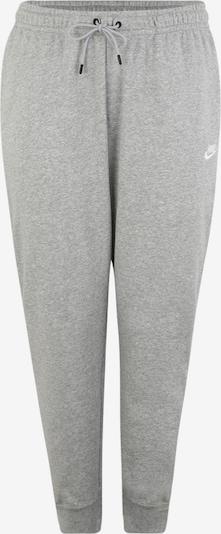 Pantaloni 'W NSW ESSNTL PANT REG FLC PLUS' Nike Sportswear pe gri, Vizualizare produs
