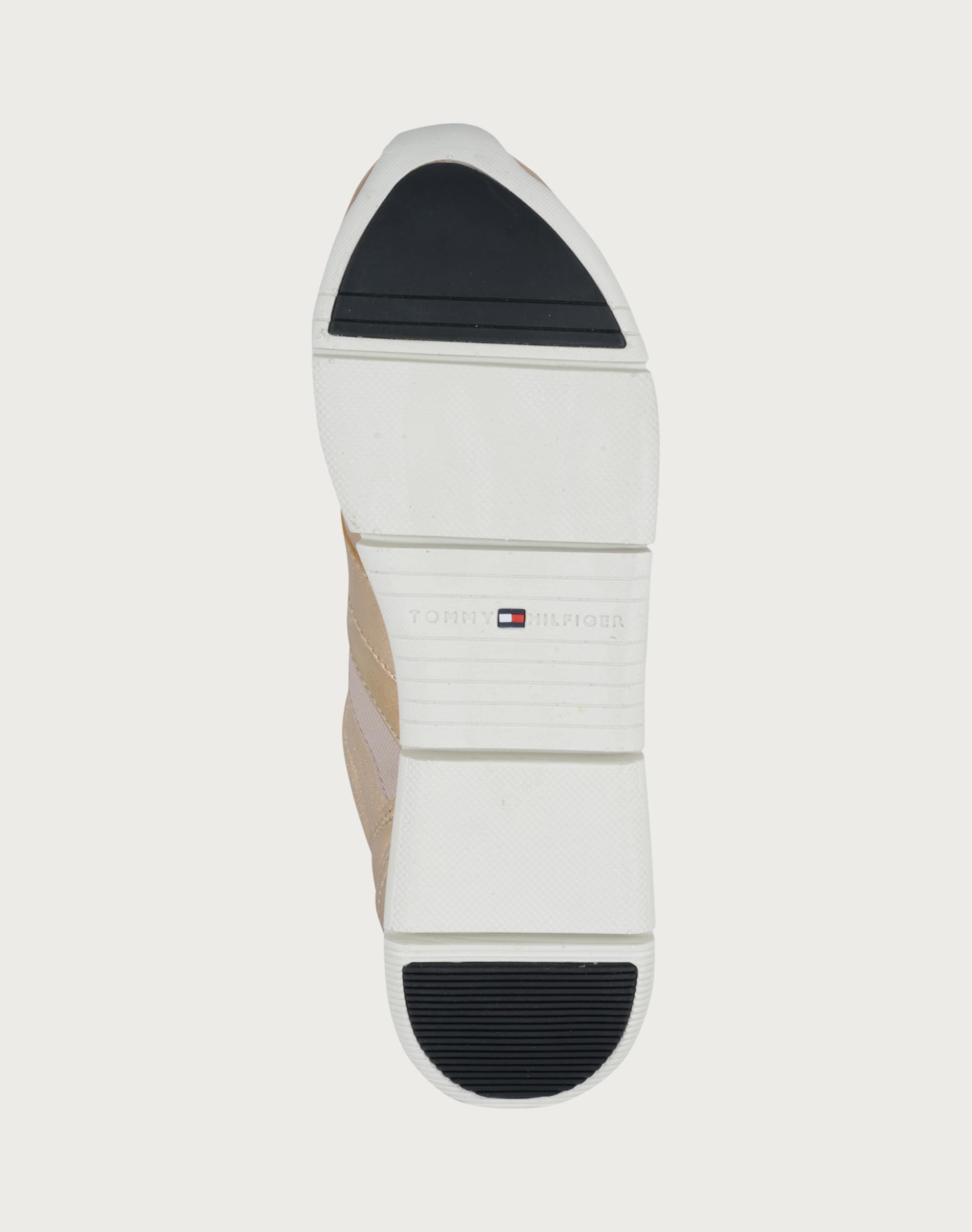 TOMMY Leder aus Sneaker TOMMY Leder HILFIGER aus Sneaker HILFIGER qwq4CFv