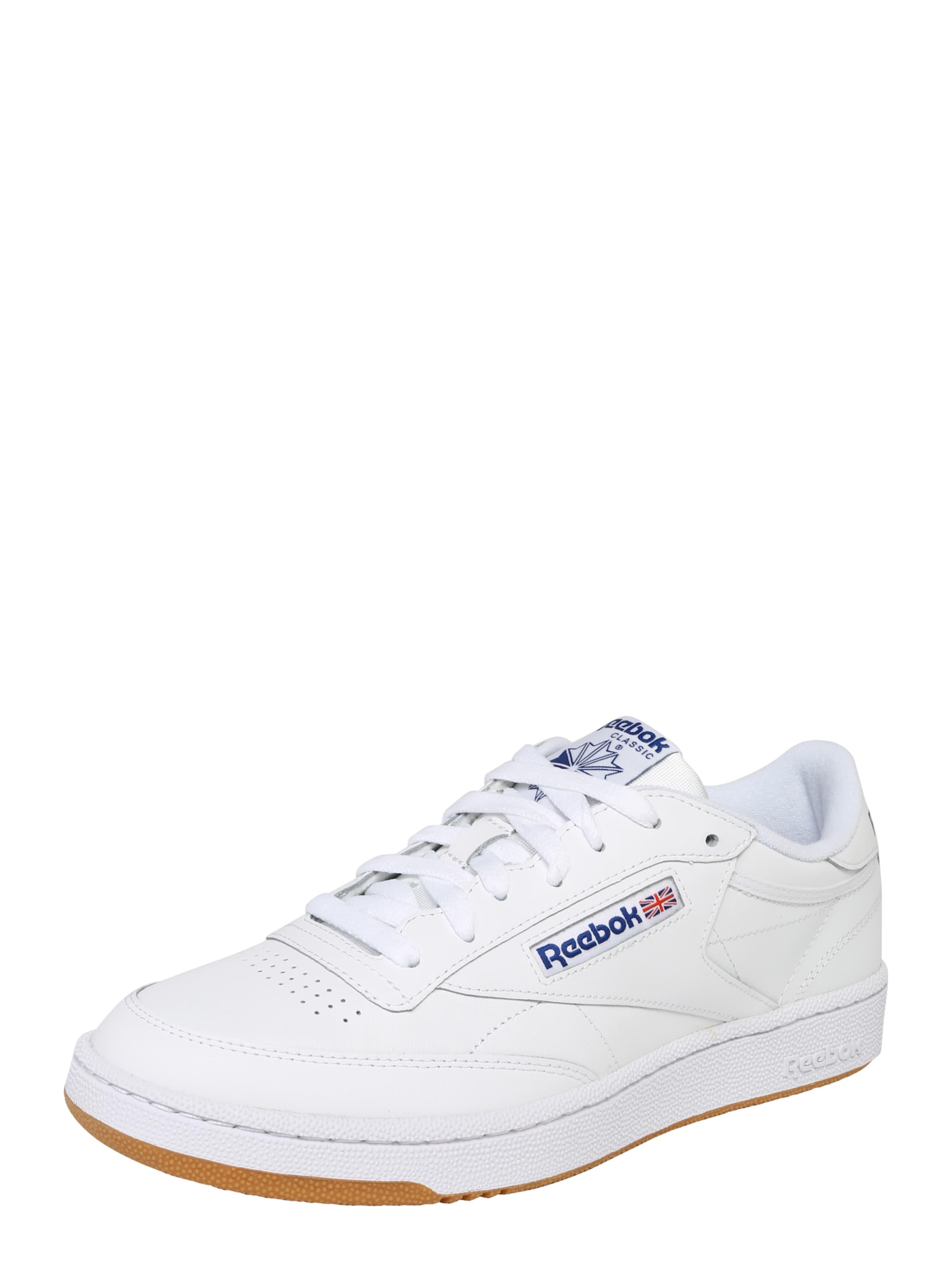 Sneaker Classic BlauRot Reebok Weiß In pGqzUMSV