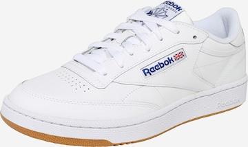 Baskets basses 'CLUB C 85' Reebok Classics en blanc