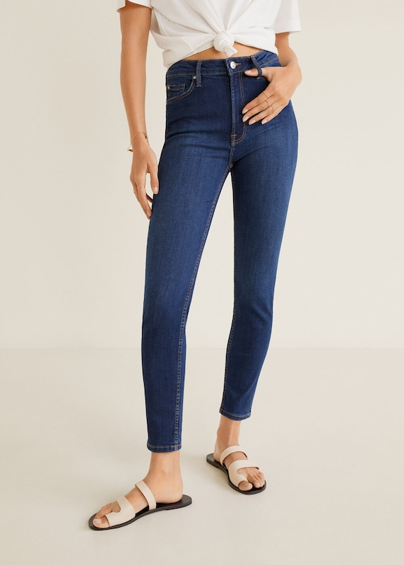 MANGO Jeans 'noa' in blue denim, Modelansicht
