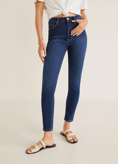 MANGO Jeans 'Noa' in blue denim, Modelansicht