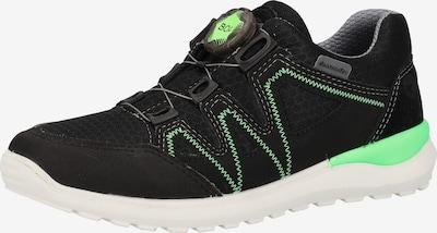 RICOSTA Sneaker in neongrün / schwarz, Produktansicht