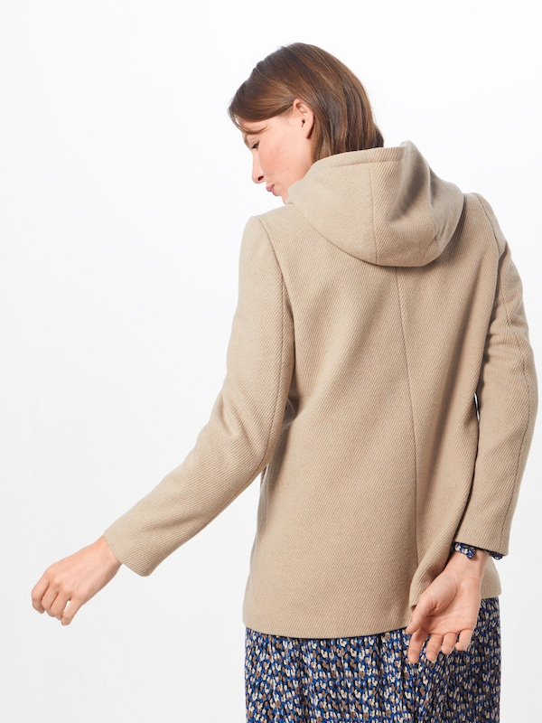 ABOUT YOU Jacke 'Carola' in beige: Rückansicht