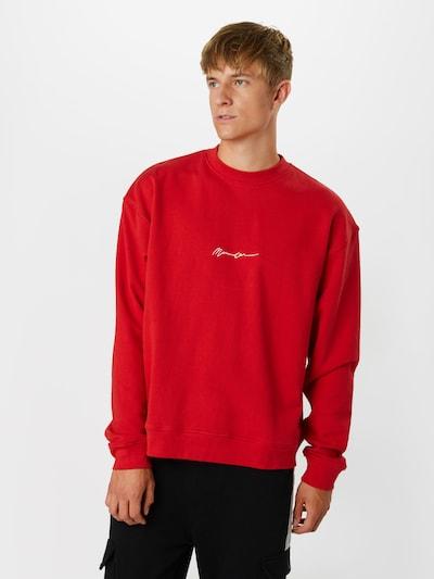 Mennace Bluzka sportowa w kolorze czerwony / białym: Widok z przodu