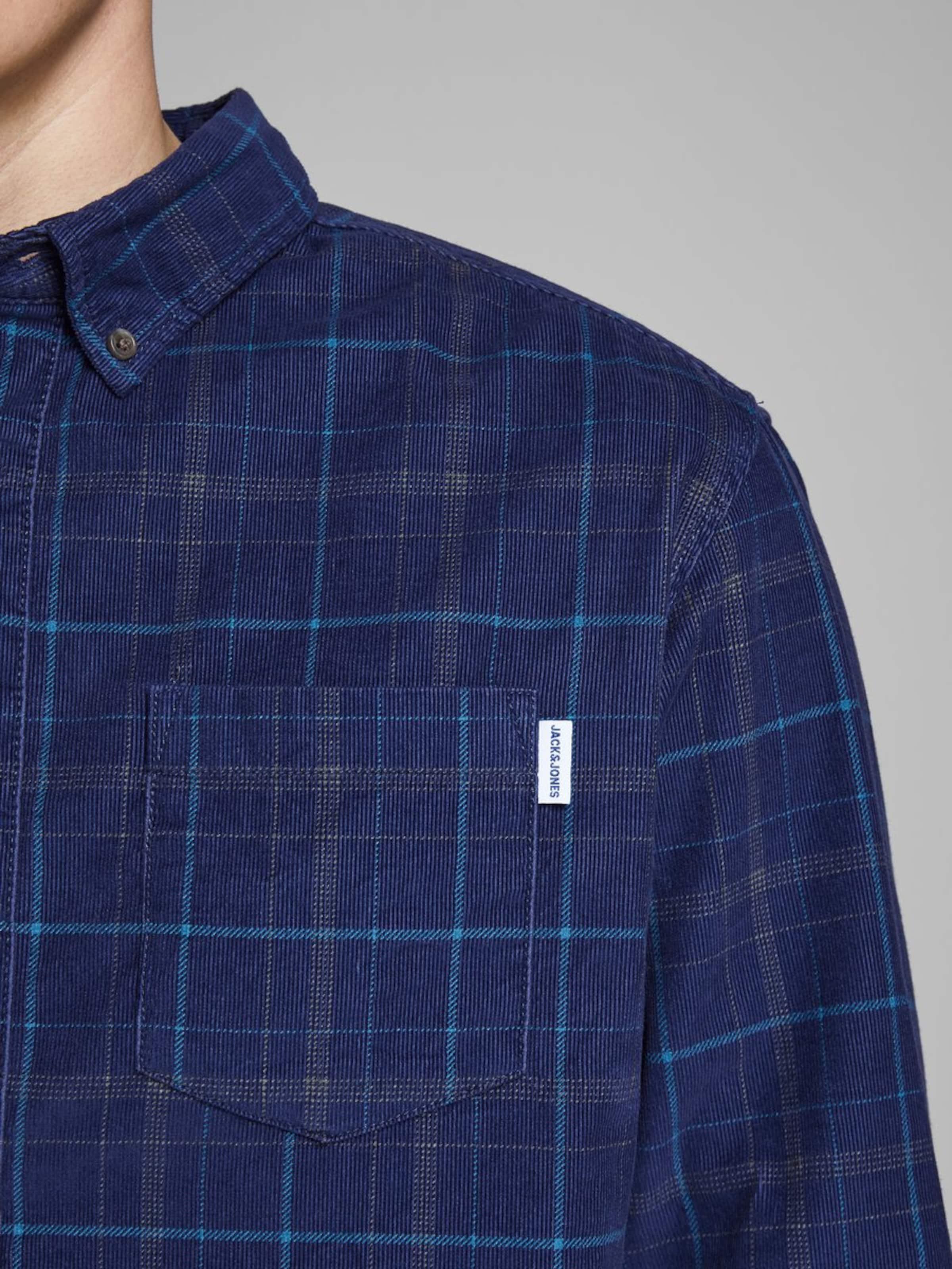 Jones In Jackamp; Hemd Blau 45A3jLqcRS