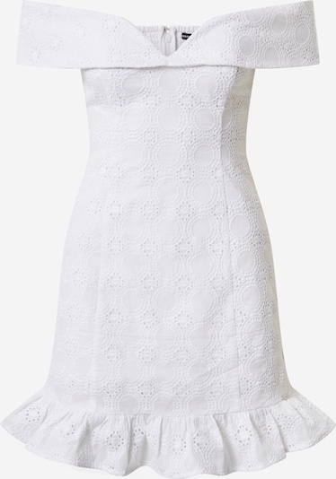 GUESS Šaty - biela: Pohľad spredu
