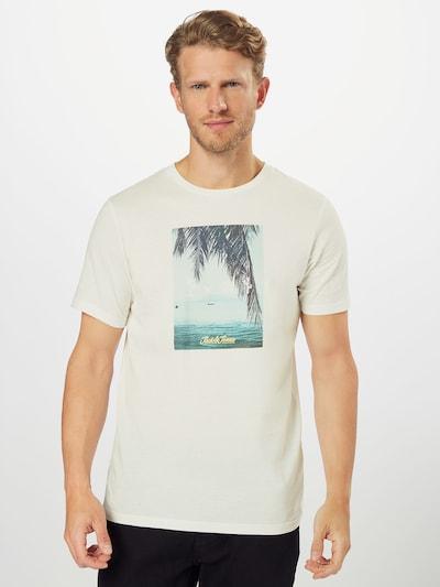 JACK & JONES Koszulka 'JORSUITE' w kolorze offwhitem: Widok z przodu