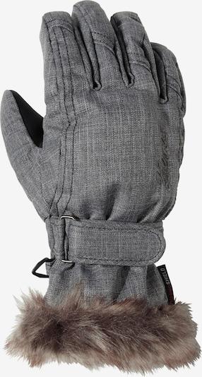 ZIENER Handschuhe 'Lim' in basaltgrau: Frontalansicht