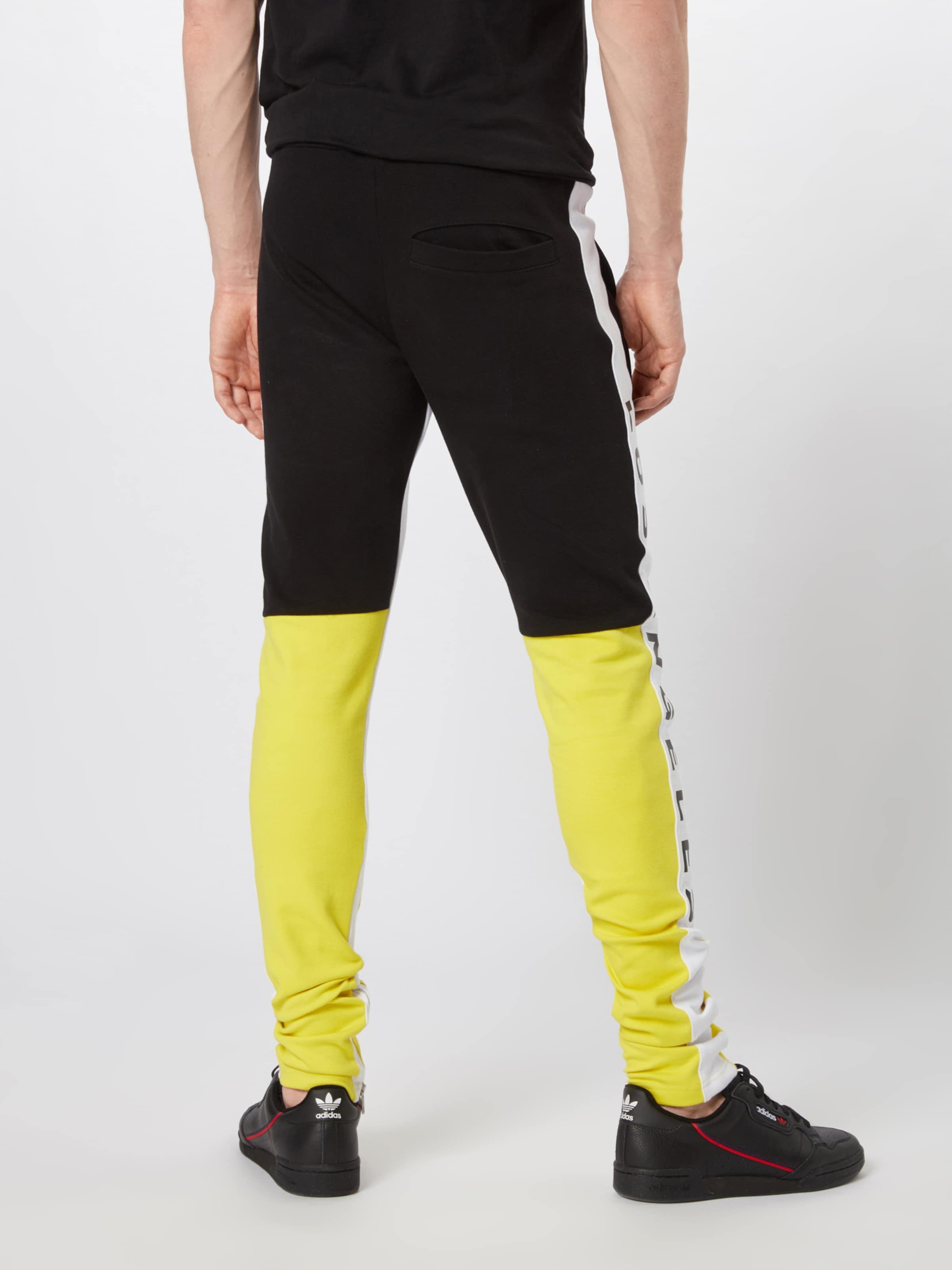 Angeles Blanc Pantalon En Mdla' MagdeburgLos 'track Pants JauneNoir qzUVpSGM