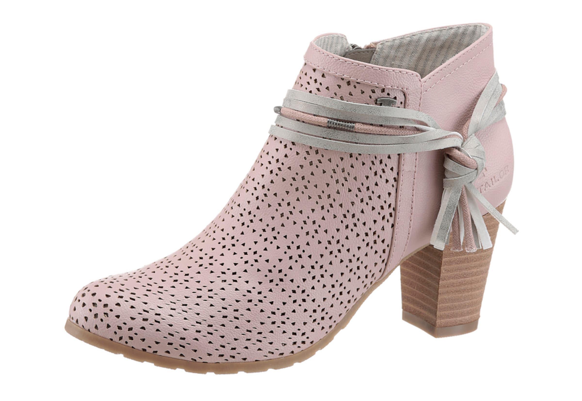 TOM TAILOR TAILOR TAILOR | Stiefelette mit modischer Prägung Schuhe Gut getragene Schuhe 0053ac