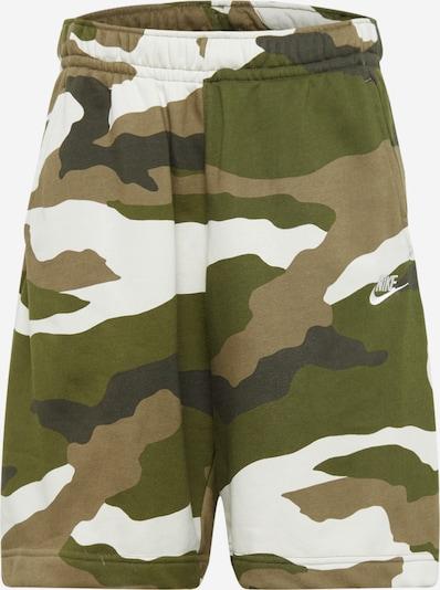 Nike Sportswear Püksid beež / oliiv / kuusk, Tootevaade