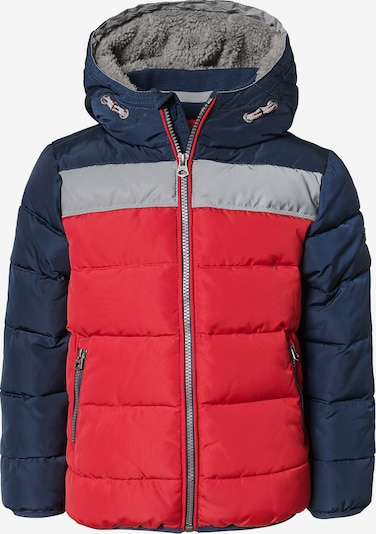 REVIEW FOR KIDS Winterjacke 'KB-19-J801' in navy / grau / rot, Produktansicht