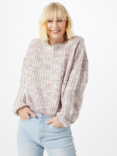 Cotton On Pullover 'THE LICORICE ALLSORT' in lila / offwhite, Modelansicht