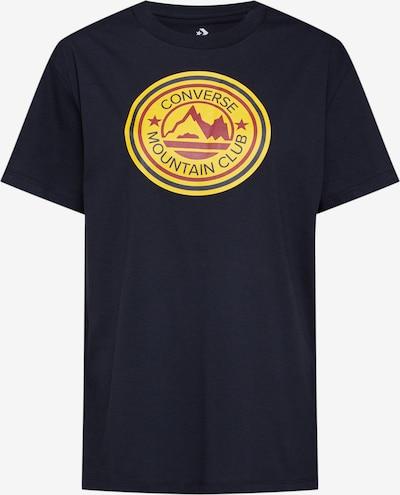 CONVERSE Shirt in mischfarben / schwarz, Produktansicht