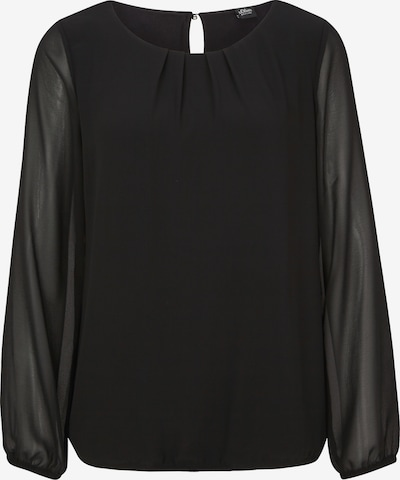s.Oliver BLACK LABEL Blouse in de kleur Zwart, Productweergave