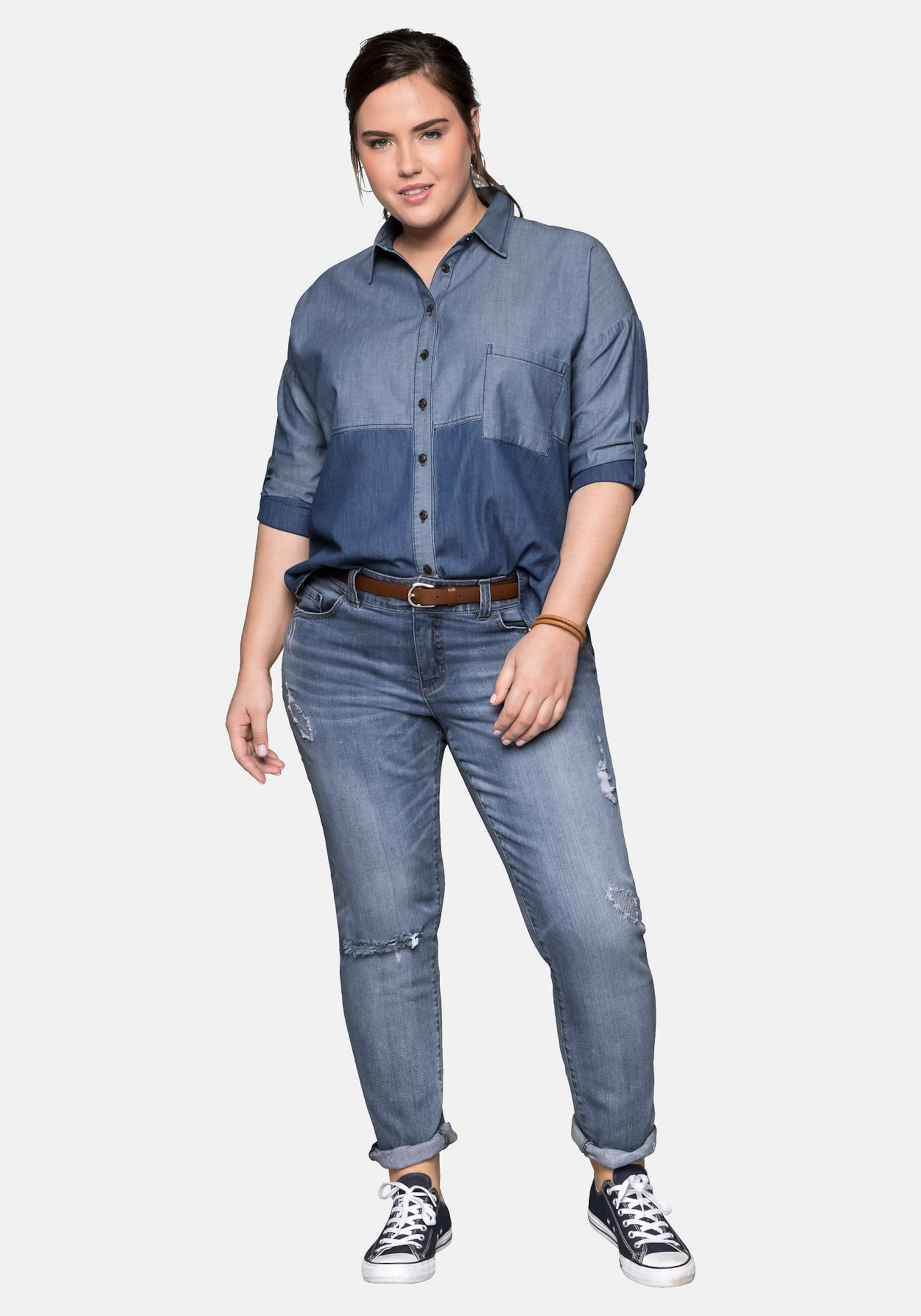 Blau In Sheego Jeansbluse In In Jeansbluse Sheego Sheego Blau Jeansbluse Blau Nv8Omny0w
