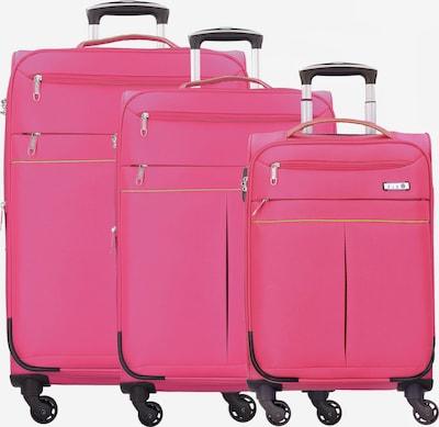 D&N Kofferset 3tlg. in pink, Produktansicht