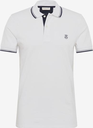 SELECTED HOMME Poloshirt 'SHHNEWSEASON' in weiß, Produktansicht