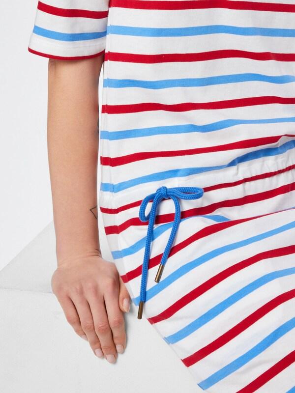 Derbe Kleid Kleid Kleid 'Holyharbor' in blau   rot   weiß  Große Preissenkung 93dd1a