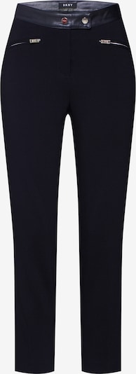 DKNY Hose 'STRAIGHT PANT FAU' in schwarz, Produktansicht