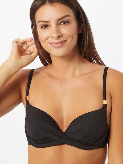 TRIUMPH Hauts de bikini 'Venus Elegance Wp Sd' en noir, Vue avec modèle
