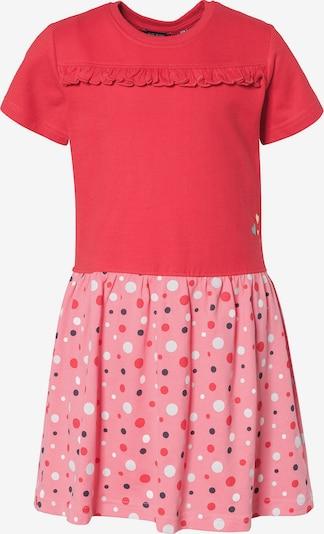 BLUE SEVEN Jerseykleid in rosa / rot / weiß, Produktansicht
