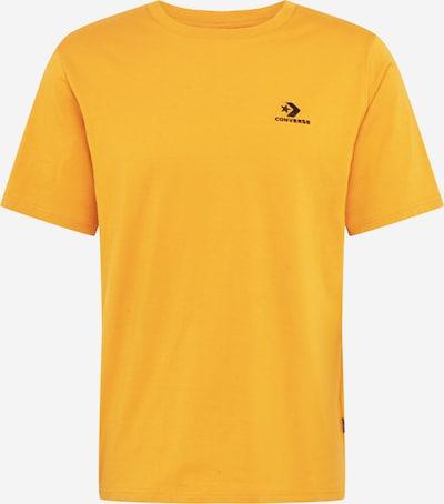CONVERSE T-Shirt in gelb, Produktansicht