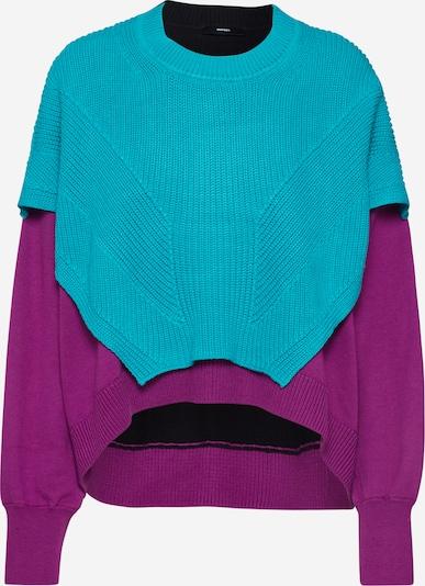 Megztinis 'M-NEXY' iš DIESEL , spalva - turkio spalva / purpurinė, Prekių apžvalga