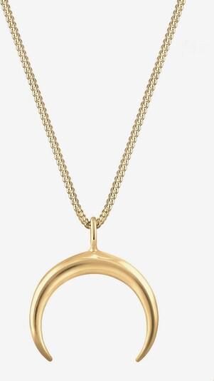 ELLI Halskette 'Halbmond' in gold, Produktansicht