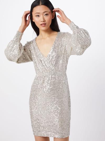 SOAKED IN LUXURY Kleid 'Nicole' in silber, Modelansicht
