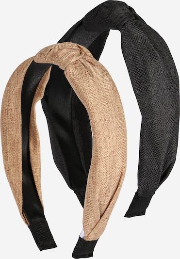 ABOUT YOU Bižutéria do vlasov 'Alara' - karamelová / čierna, Produkt