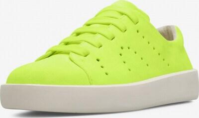 CAMPER Sneaker ' Courb ' in neongelb, Produktansicht