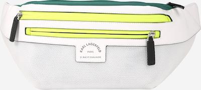 Rankinė ant juosmens 'Rue St Guillaume' iš Karl Lagerfeld , spalva - geltona / žalia / balta, Prekių apžvalga