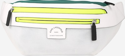 Karl Lagerfeld Torbica za okrog pasu 'Rue St Guillaume' | rumena / zelena / bela barva, Prikaz izdelka