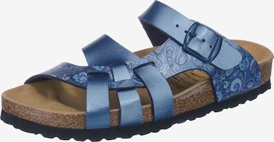 LICO Sandale 'Flora' in blau, Produktansicht