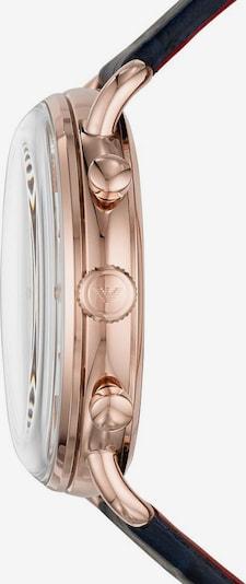 Emporio Armani Chronograph-Uhr in altrosa: Frontalansicht