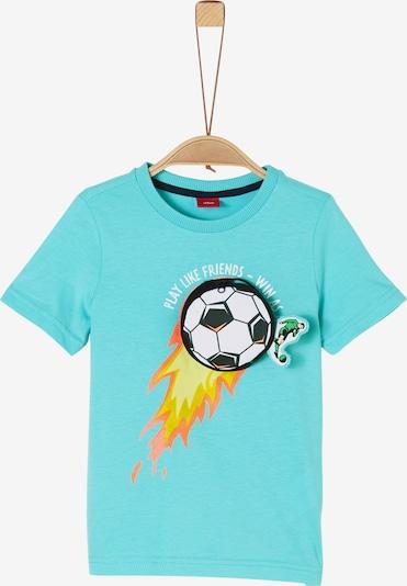 s.Oliver T-Shirt in aqua, Produktansicht