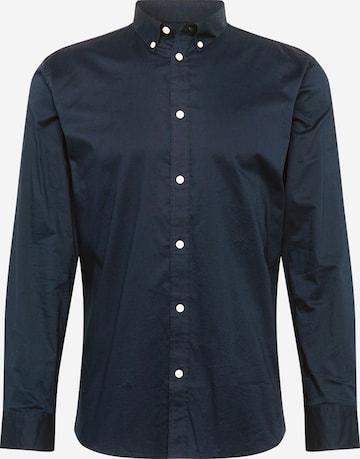 minimum Hemd 'Walther' in Blau