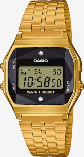 CASIO Multifunktionsuhr 'A159WGED-1EF' in gold, Produktansicht