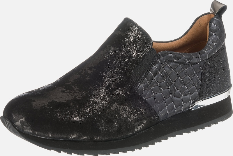 CAPRICE Komfort-Slipper Leder, Textil Lässig wild