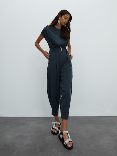 EDITED Jumpsuit 'Pina' in dark green, View model