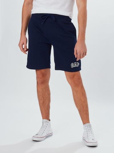 Pantaloni 'V-NEW ARCH' GAP di colore navy, Visualizzazione modelli
