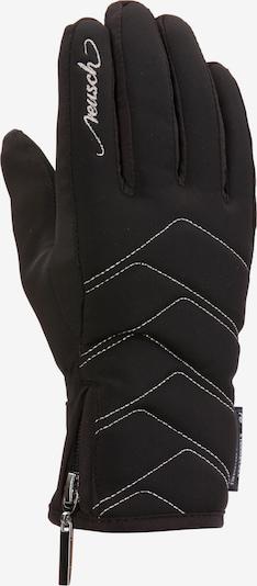 REUSCH Fingerhandschuhe in schwarz / silber, Produktansicht