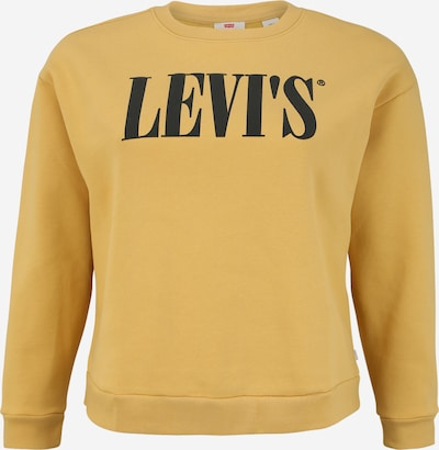 Levi's® Plus Sweatshirt 'MADISON' in gelb, Produktansicht