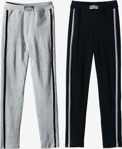 LE JOGGER Leggings (2 Stck.) in grau / schwarz, Produktansicht